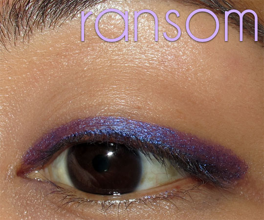 urban decay 24 7 jackpot swatches review ransom