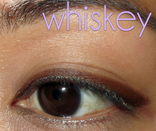 urban decay 24 7 jackpot swatches review whiskey