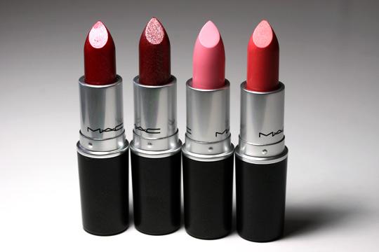 MAC Dazzle Cremesheen Lustre Lipsticks