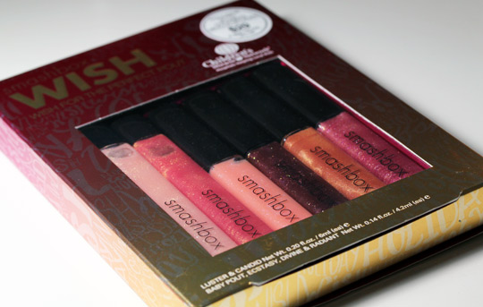 Smashbox wish holiday 2010 collection wish for the perfect pout box