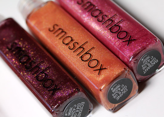 Smashbox wish holiday 2010 collection wish for the perfect pout glosses second three