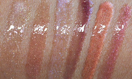 Smashbox wish holiday 2010 collection wish for the perfect pout glosses swatches
