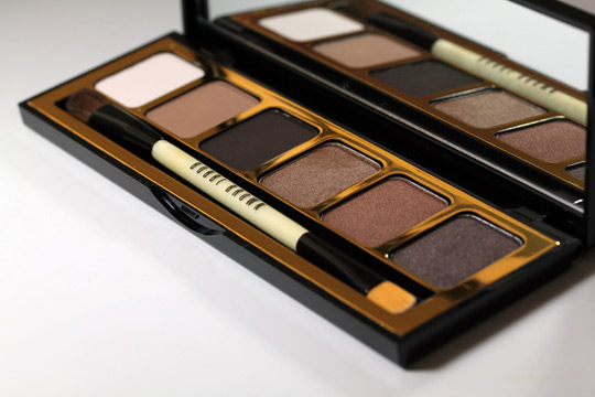 bobbi brown holiday 2010 day to night warm eye palette shadows all