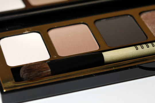 bobbi brown holiday 2010 day to night warm eye palette shadows left