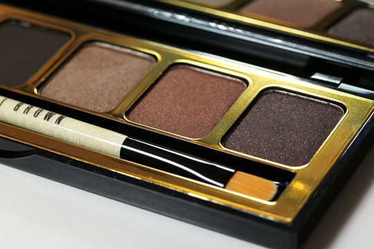 bobbi brown holiday 2010 day to night warm eye palette shadows right
