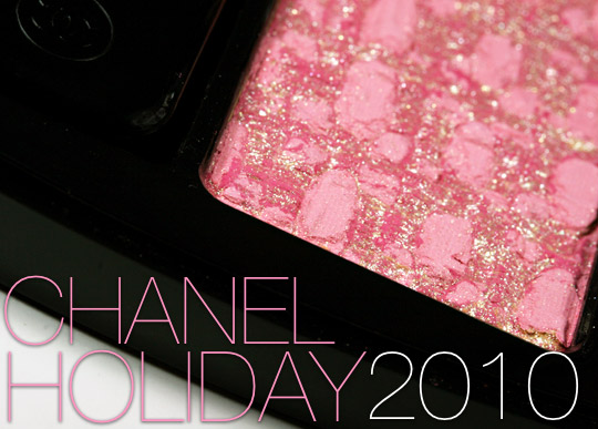 chanel les tentations de chanel holiday 2010 makeup collection swatches review photos