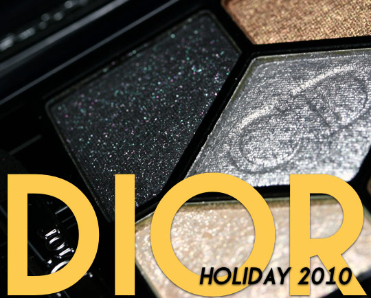 dior holiday 2010 makeup swatches review