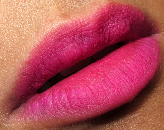 fred farrugia makeup review lip pink closeup