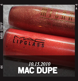 A MAC Lipglass Dupe for $4.50? Try Milani Crystal Gloss