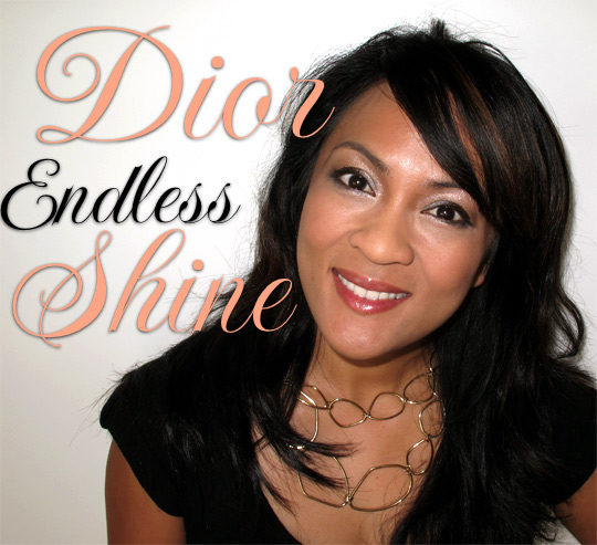 karen from makeup and beauty blog wearing dior holiday 2010 endless shine 529
