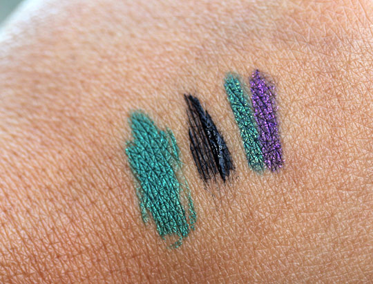 kiko make up milano swatches