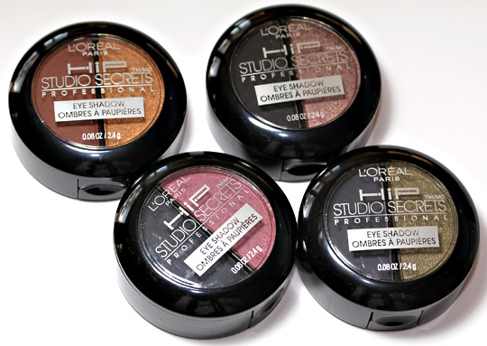 L'Oreal Midnight Muse Collection HiP Shadow Duos: A Quick Look