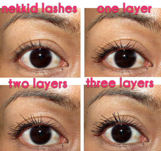 loreal voluminous million lashes review layers of lashes