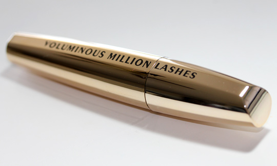 loreal voluminous million lashes review tube
