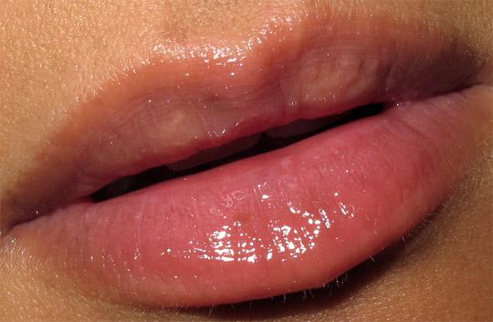 mac a tartan tale swatches 5 sassy coral lassies lipglass mimmy