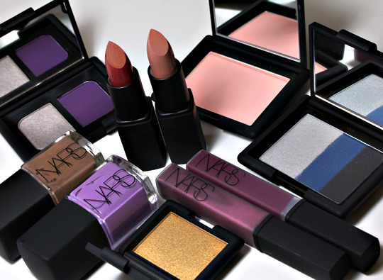 nars holiday 2010 swatches review photos all