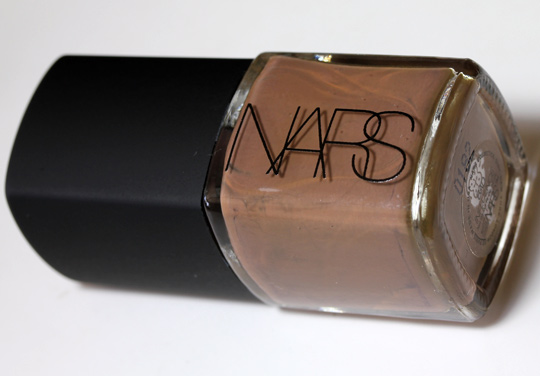 nars holiday 2010 swatches review photos bad influence nail polish product shot
