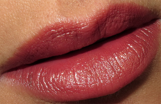 nars holiday 2010 swatches review photos petit monstre lipstick lip closeup