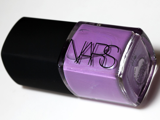 nars holiday 2010 swatches review photos pokerface nail polish product shot