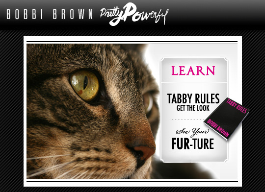 Tabs for Bobbi Brown Tabby Rules