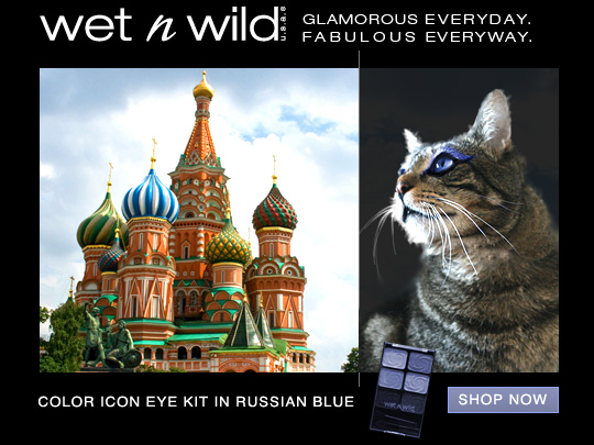 Tabs for Wet N Wild Color Icon Eye Kit in Russian Blue