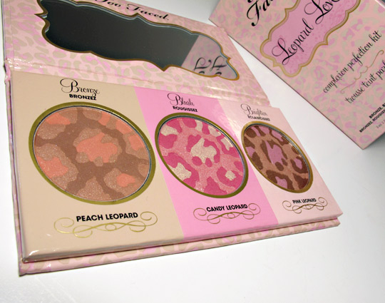 too faced leopard love palette review all