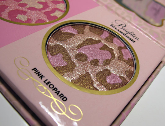 too faced leopard love palette review pink leopard