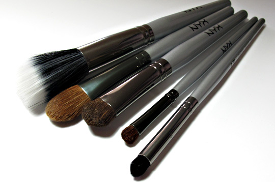 Nyx brush review product photos 1