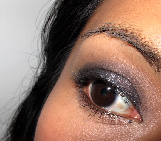 bobbi brown choose your glam smokey eye palette swatches review fotd eye