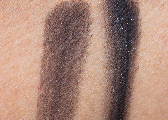 bobbi brown choose your glam smokey eye palette swatches review fotd swatches on nc35 skin 2