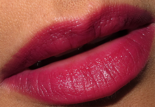 dolce gabbana lip jewel review swatches photos dahlia lip closeup