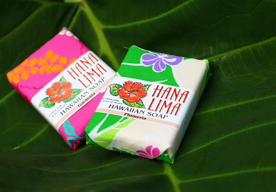 hana lima hawaiian soap