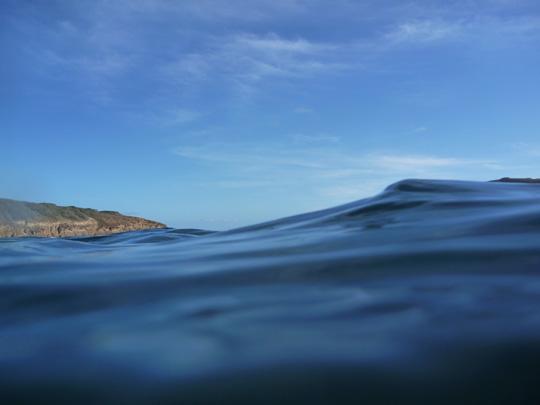 Hanauma Bay, Oahu, Hawaii - The open ocean