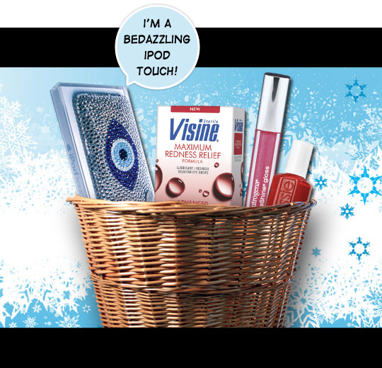Enter the iPod Touch - Visine Giveaway