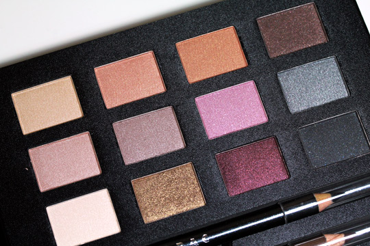 lorac box office hit review swatches photos eyeshadows in case
