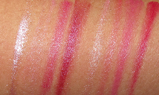 lorac box office hit review swatches photos lipsticks