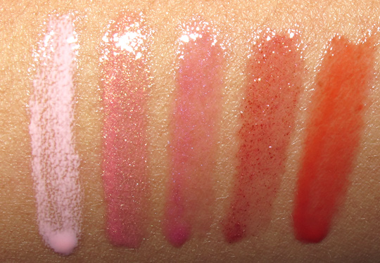 nars crazy heart swatches review photos swatches arm