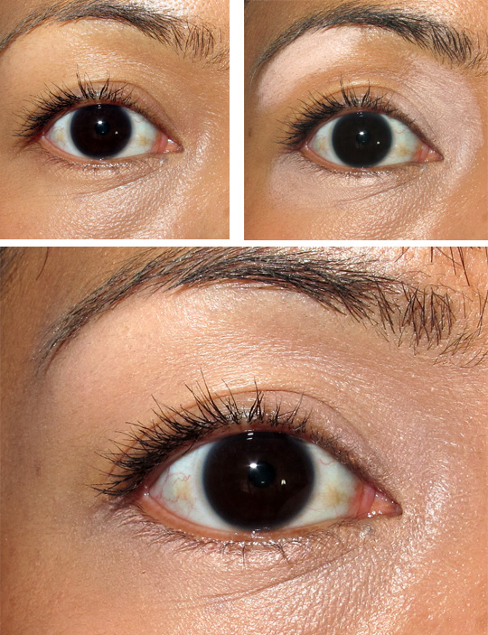 nyx push up bra for eyebrow review eye before after final