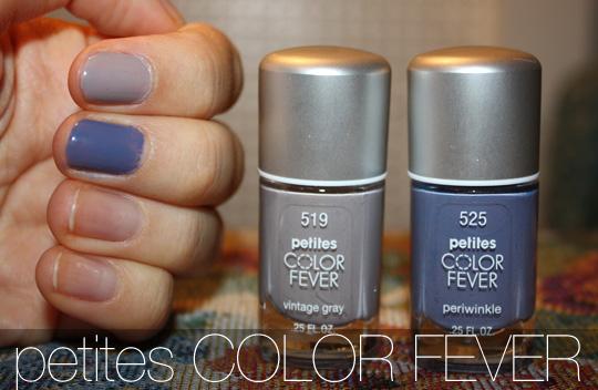 $4 petites Color Fever Nail Polishes