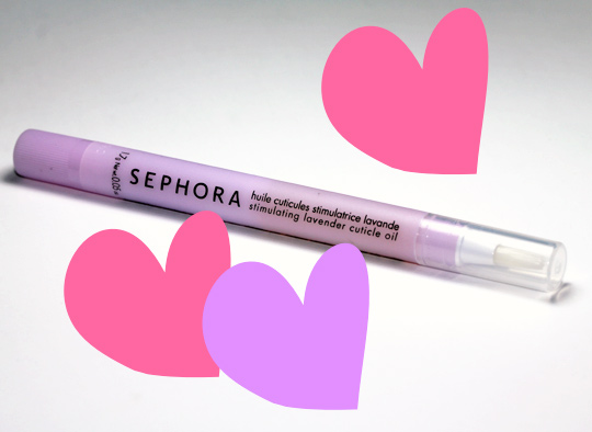 sephora stimulating lavender cuticle oil review