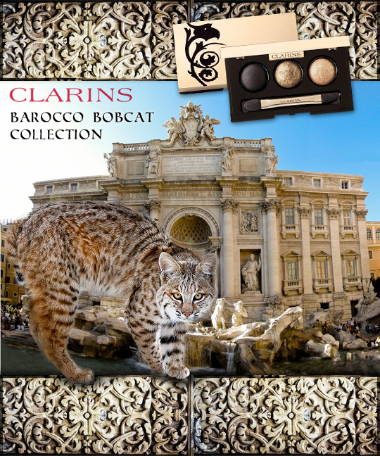 Tabs for the Clarins Barocco Bobcat Collection