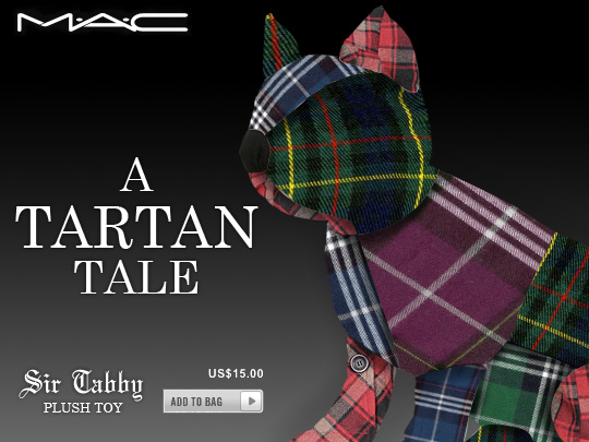 Tabs for the MAC a Tartan Tale Sir Tabby Plus Toy