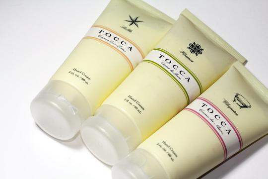tocca hand cream viaggio review