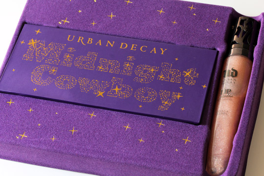 urban decay cowboy junkie set review swatches photos makeup and beauty blog in box