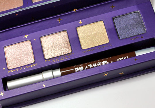 urban decay cowboy junkie set review swatches photos makeup and beauty blog palette 2