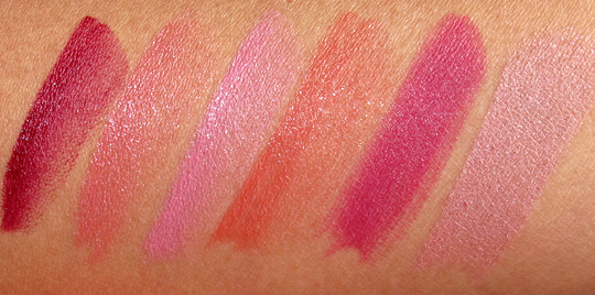 Benefit full finish lipstick review swatches photos spring 2011