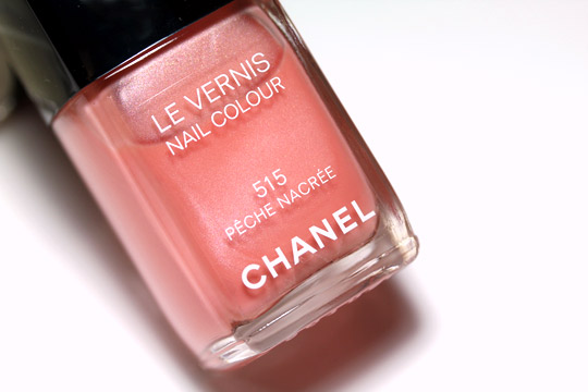 Chanel Peche Nacree
