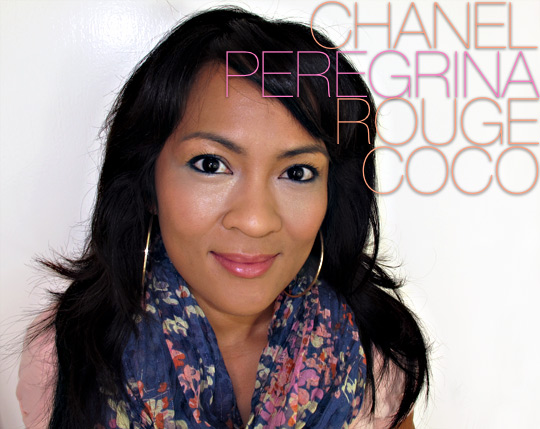 Chanel Peregrina Rouge Coco on karen of makeup and beauty blog