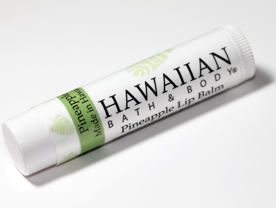 Hawaiian Bath and Body Review Pineapple Lip Balm