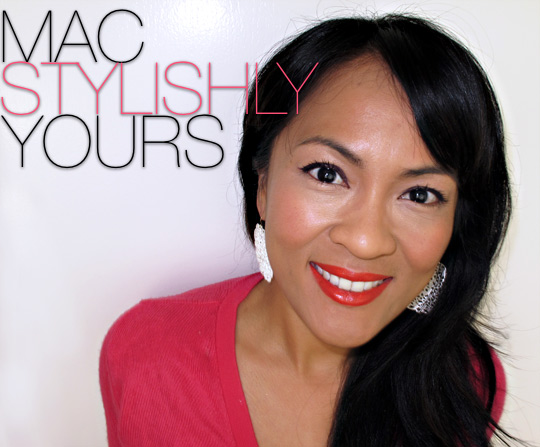 MAC Neon Orange on Karen of Makeup and Beauty Blog